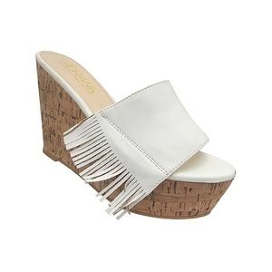 Adriana New York 'Lazaro' platform wedge sandal, 8